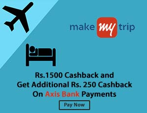 MakeMytrip Axis Coupons
