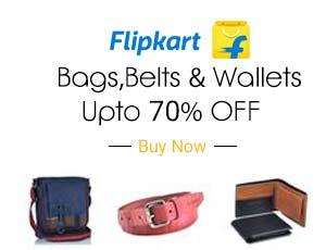 Flipkart Bags Coupons