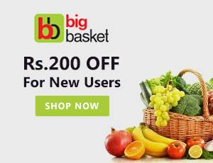 Big Basket New Users Coupons