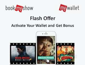 BookmyShow Wallet Coupons