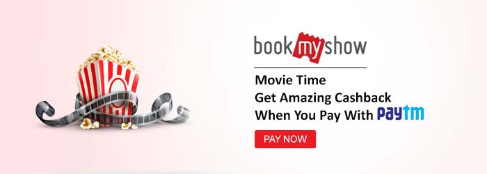 BookMyshow Paytm Offers