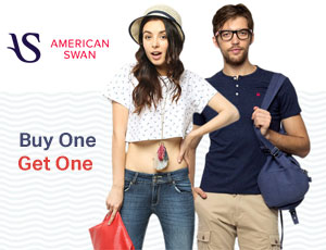 American Swan Buy One get one Coupons