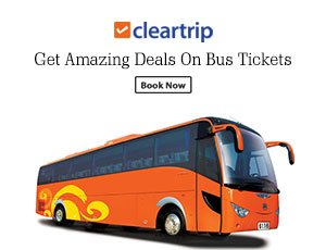 Cleartrip Bus Coupons