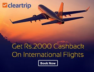 Cleartrip Flight Coupon Codes