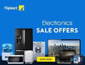 Flipkart Electronics Sale Offers