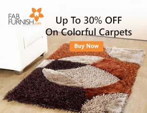 FabFurnish Carpets Offers