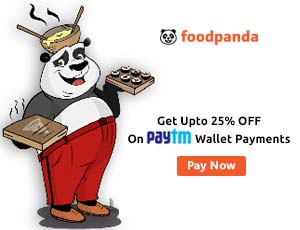 Foodpanda Paytm Coupons