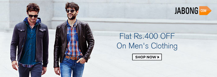 Jabong Men's Clothing Offers