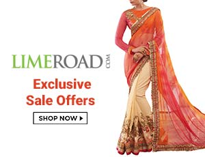 Limeroad Sarees Offers
