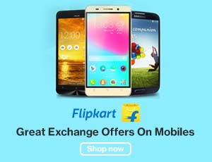 Flipkart Mobiles Exchange Offers