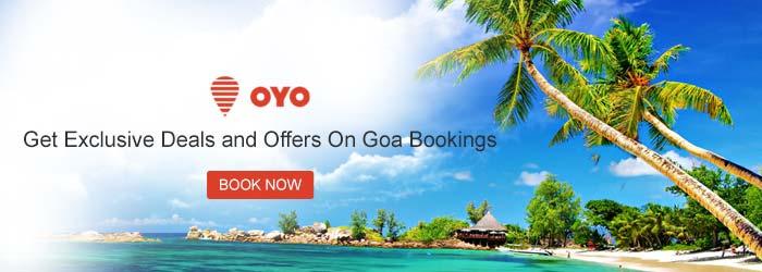 OYO Rooms Goa Coupons
