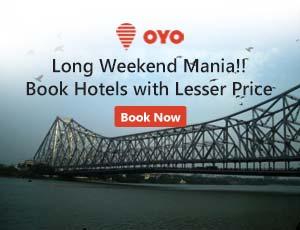 OYO Rooms Kolkata Coupon Codes