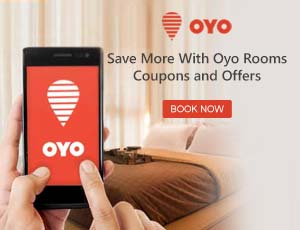 OYO Rooms App Coupons