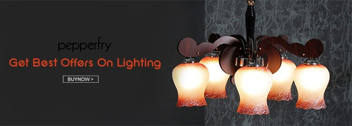 Pepperfry Lights Coupons