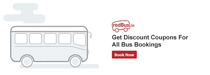 Bus ticket booking discount coupons