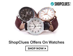 ShopClues Watches Coupons