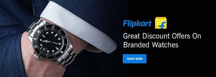 Flipkart Watches Coupons