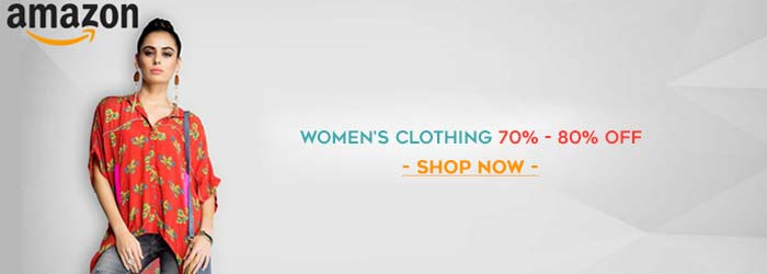 Amazon Women's Clothing Coupons
