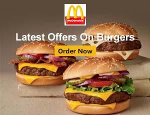 McDonald's Burgers Offers