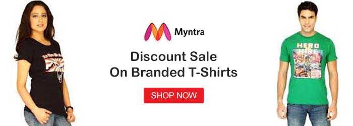 Myntra shirts Offers