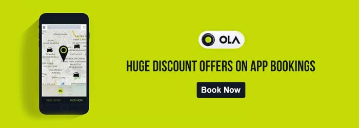 Ola Cabs App Coupons