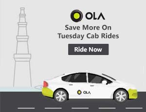Ola Cabs Delhi Coupon Codes