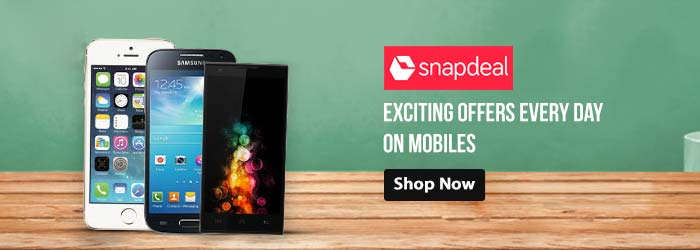 Snapdeal Mobiles Coupons