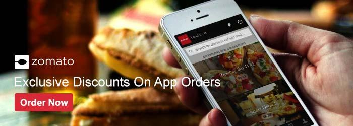 Zomato App Offers