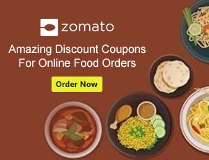 Zomato Food Coupons