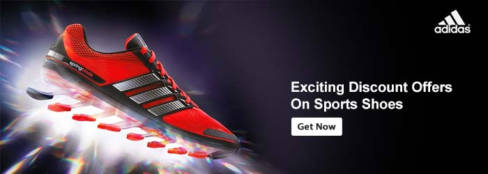 adidas sports shoes offers