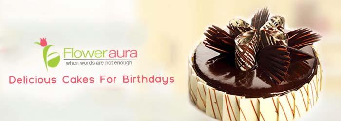 floweraura cakes offers