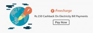 FreeCharge Electricity Bill Coupons