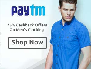 Paytm Clothing Offers