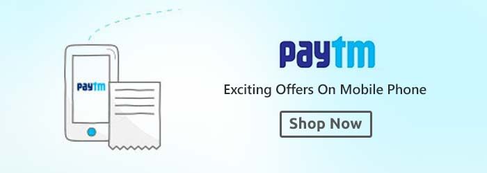 Paytm Mobiles Offers