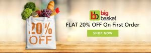 Big Basket First Order Offers