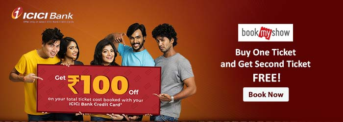 BookMyshow ICICI Offers
