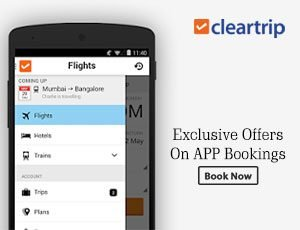 Cleartrip App Offers