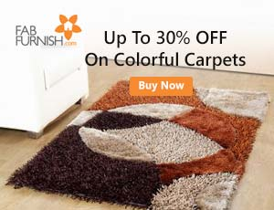 FabFurnish Carpets Offers