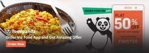 Foodpanda App Coupons