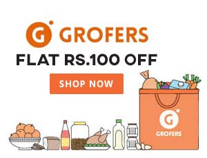 Grofers Bangalore Coupon Codes