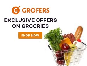 Grofers Grocery Promo Codes