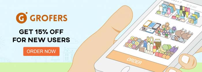 Grofers New Users Offers