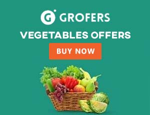 Grofers Vegetables Coupons