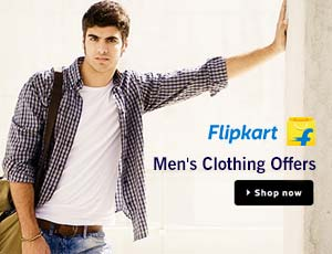 Flipkart Men's Clothing Coupons