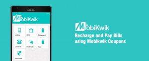 Mobikwik Recharge Coupos