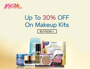 Nykaa makeup Kits Coupons