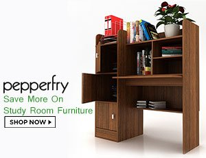 Pepperfry Study Room Coupons