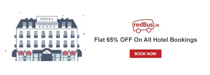 Redbus Hotels Promo Codes