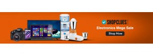 ShopClues Electronics Discount Offers
