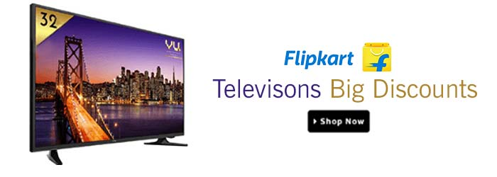 Flipkart Tv's Coupons